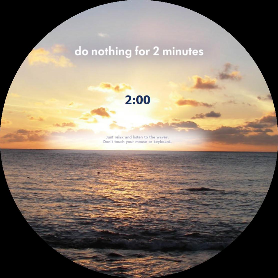 2 minute meditation